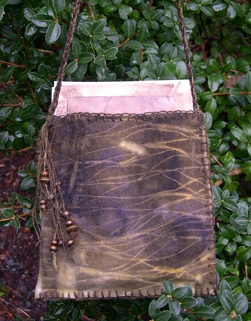 Eco-dyed bag
