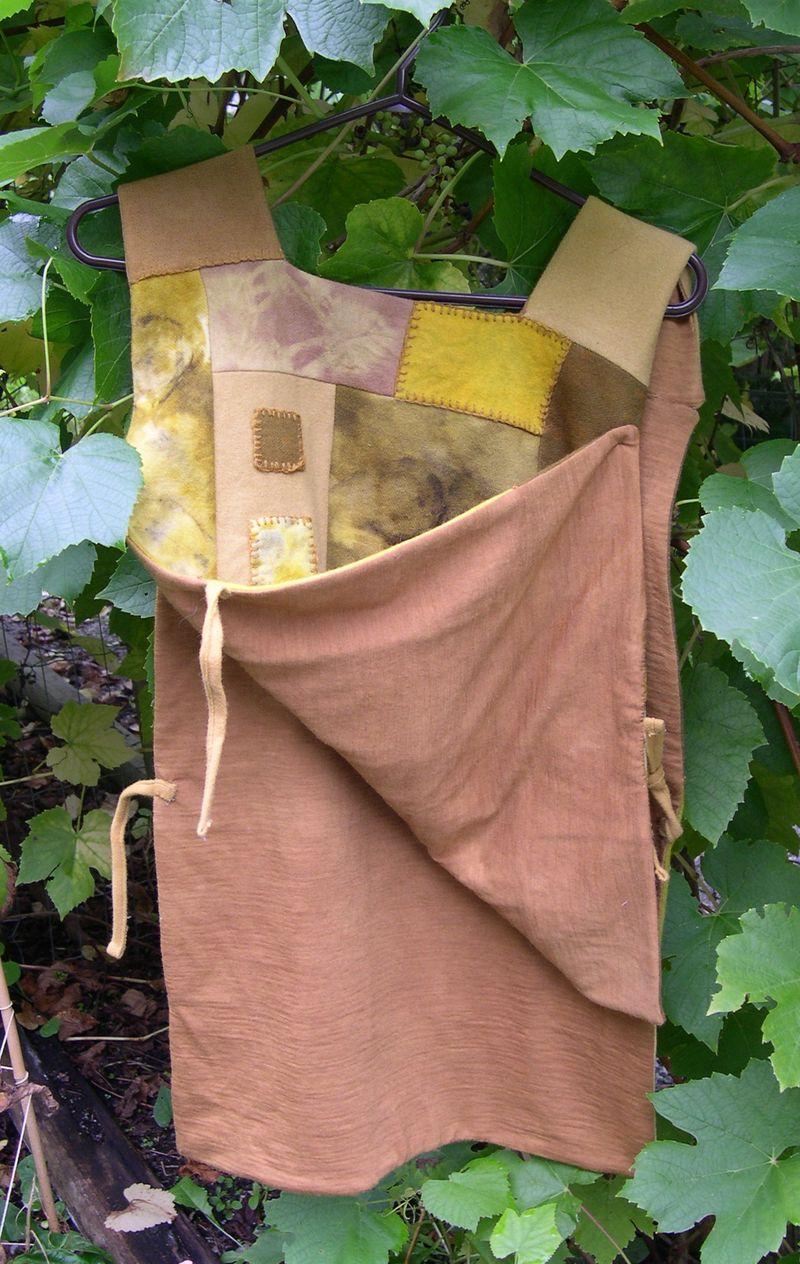 3eco-dyed tunic lining